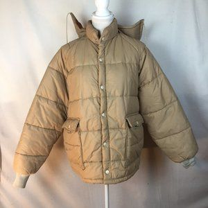 Vintage Weathercaster Puffer Coat